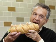 Fred DeLuca, fundador de Subway, en un local en Londres.