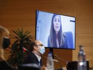 Ignacio Muñoz, director general de Angulas Aguinaga y Beatriz Navarro, directora de Marketing y Comunicación de Fnac, en el 35º Congreso de Gran Consumo de AECOC