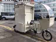 Imagen de una de las bicicletas eléctricas que está probando Amazon en Londres