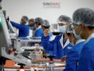 Instalaciones del fabricante de vacunas chino Sinovac