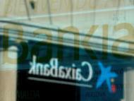 Los logotipos de Bankia y CaixaBank