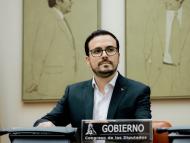 El ministro de Consumo y coordinador federal de Izquierda Unida, Alberto Garzón.