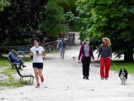 personas haciendo deporte, caminar, correr