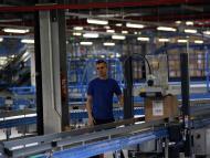trabajador almacén de Inditex