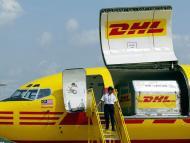 Avión de carga de DHL.