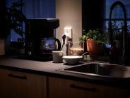 Cafetera con enchufe inteligente