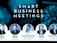 Cartel del Smart Business Meeting del sector del lujo