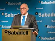 El presidente del Banc Sabadell, Josep Oliu