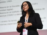 Selva Orejón, directora ejecutiva de onBRANDING, en el Encuentro Internacional de Seguridad de la Información de 2019.