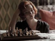 Anya Taylor-Joy en 'The Queen's Gambit' como Beth Harmon.