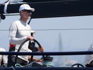 Felipe VI en su barco