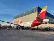 Instalaciones de Iberia en La Muñoza, en Madrid
