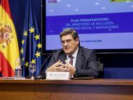 El ministro de Inclusión, Seguridad Social y Migraciones, José Luis Escrivá,
