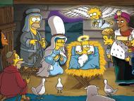 Simpson en Navidad: gifs y videos para felicitar navidad