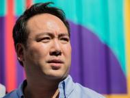 El CEO de Deliveroo, Will Shu, en Francia en 2018