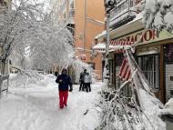 Daños en vivienda por nieve