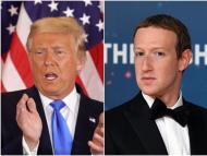 Donald Trump y Mark Zuckerberg