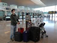 Familia viajando durante la pandemia