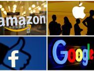 Logos de Amazon, Google, Facebook y Apple
