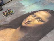 Pintura de la Mona Lisa.