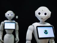 El robot Pepper detectando si lleva la gente mascarilla o no.