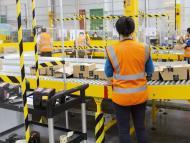 Trabajadores de Amazon en Espana