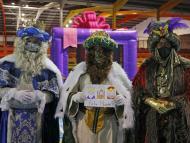 Los tres Reyes Magos con mascarilla
