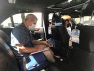 Uber conductor mascarilla