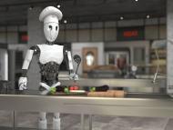 Camarero y cocinero son dos trabajos en peligro por la inteligencia artificial.