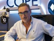 Carlos Herrera como presentador de la radio mejor pagado de España