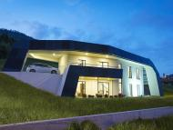 Casa 100% desconectada que genera cero emisiones y es capaz de captar luz solar en días nublados