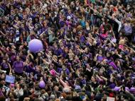 Día de la Mujer en Madrid.