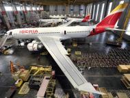 Iberia hangar carga
