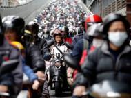 Motos en Taipei