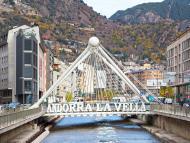 El Pont de París, en Andorra La Vella