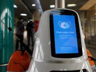 robot antipandemia