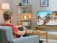 television en el salon