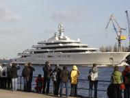Yate del multimillonario Abramovich