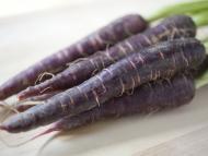 Zanahorias violetas.