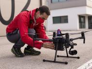 drones 5G vodafone cruz roja