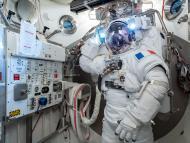 ESA astronauta Tomas Pesquet EEI