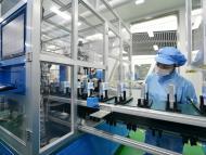 Una fábrica de baterías para coches eléctricos