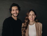 Los fundadores de Passporter, Diego Rodriguez y Andrea Cayon.