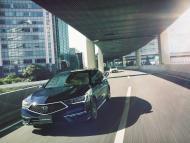 Imagen del Honda Legend, el primer vehículo autónomo de nivel 3 de Honda.