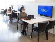 Imagen del nuevo espacio de oficinas de Ford en Michigan EEUU