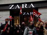 Manifestaciones trabajadores de Inditex