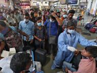"""Un nuevo coronavirus """"doble mutante"""" aparece en India, en medio de sus 24 horas más duras"""