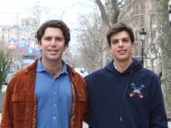 Pablo Candau y Ramón Borruel, fundadores de Clothify