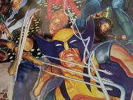 El personaje de los X-Men, Lobezno, que tiene un sentido del oído sobrehumano.