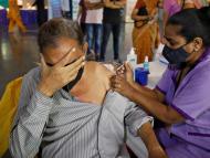 Vacunación en la India